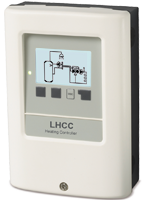 LHCC Weather-compensated heating controller for various heating and cooling systems