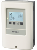 Midsize Temperatur Differenz Controller für einfache Solar-Systeme