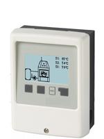 Régulateur SBMC avec régulation de vitesse spécialement adaptée pour installations de chauffage avec chaudière bois