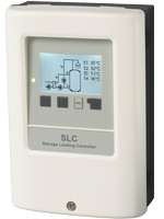 SLC For temperature-accurate loading of large domestic hot water storage tanks