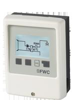 Der Regler für kleine Frischwasserstationen mit drehzahlgeregelter Hocheffizienzpumpe.
