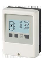 TC Controller mit Thermostatfunktion zur Speicheraufheizung.