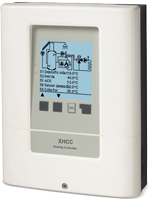 XHCC For flexible control of complex heating systems or combined heating and cooling systems