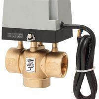 3-Wege Zonenventile aus der ZRS-Serie werden bei Heiz- oder Kühlanwendungen